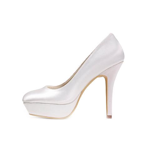 женская обувь платформа шпилька сатин насосы свадебные туфли больше цветов Lightinthebox 2577.000