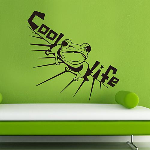 Животное холодные стикеры стены Frog Lightinthebox 1718.000