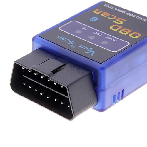 мини elm327 v1.5 bluetooth elm 327 obdii obd2 протоколы авто диагностический инструмент сканер интерфейсный адаптер