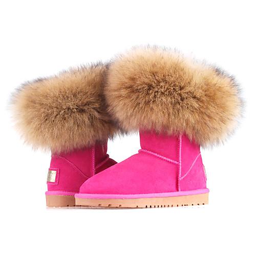 Ботинки женские, зимние, с мехом Lightinthebox 3007.000