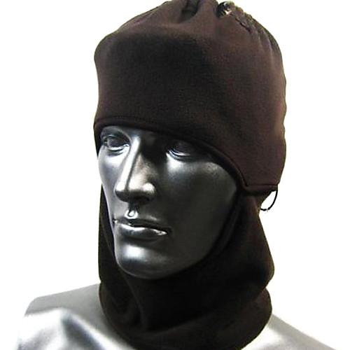 Черная флисовая маска для велосипедистов Lightinthebox