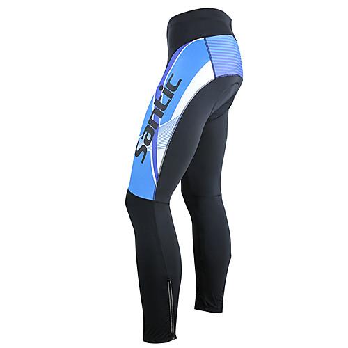 Мужской сине-белый термальный велокостюм Lightinthebox 2577.000