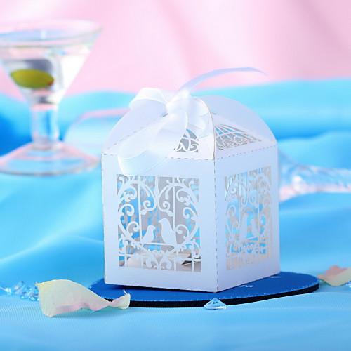 белые голубки полым из дизайн свадьбы пользу коробки-комплект из 10 Lightinthebox 262.000