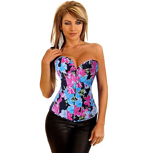 Сексуальная Bangdeau цветочным принтом Корсет Lightinthebox 558.000