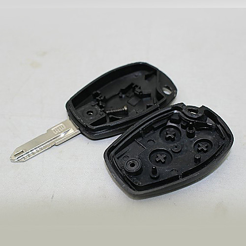 Замена автомобилей 3-кнопочным пультом дистанционного пустой ключ крышка Крышка для Renault (время логотип) Lightinthebox 171.000