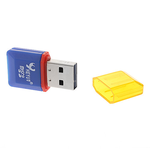 USB 2.0 Micro SD / TF Card Reader с голубым Lightinthebox 42.000