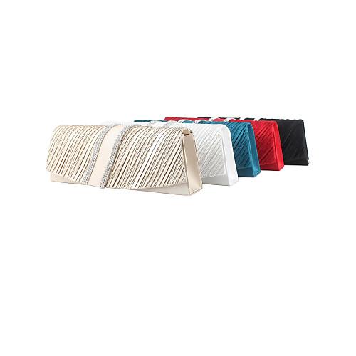 Красивые шелковые с Австрией стразами свадьбы / особых поводов Вечерняя сумочка / муфты (другие цвета) Lightinthebox 583.000