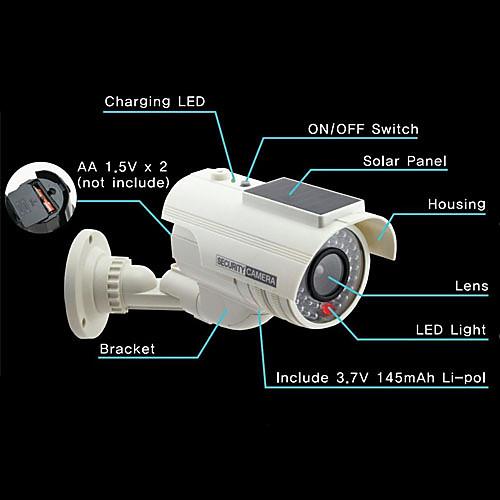 Солнечные Поддельные камеры безопасности пустышка Lightinthebox 558.000