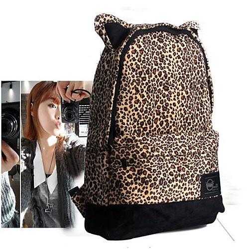 Vintage Rivet Leopard рюкзак Lightinthebox 3093.000
