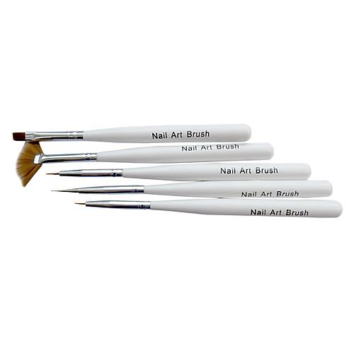 5PCS Nail Art Дизайн Живопись Pen польский Set Lightinthebox 231.000