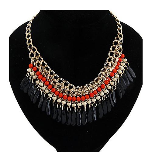 Чехии народном стиле черные слои воды акриловых ожерелье (больше цветов) Lightinthebox 219.000