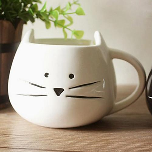 Мультфильм Cat кружка, керамическая 13.5oz, многоцветные Lightinthebox 558.000