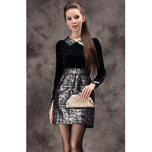 TS Vintage нагрудные Bub жаккардовые платья Lightinthebox 1256.000