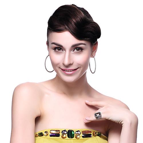 Элегантная Леди Мода 1шт Клип Удары Fringe Наращивание волос (3 цвета) Lightinthebox 1052.000