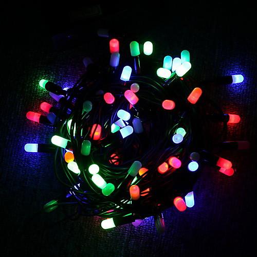 Разноцветная Рождественская светодиодная гирлянда на батарейках (Cis-57119)