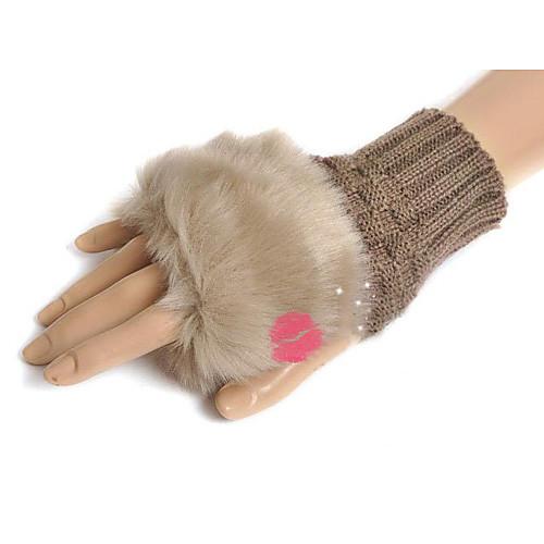 Искусственные волосы Кони перчатки Половина Lightinthebox 343.000
