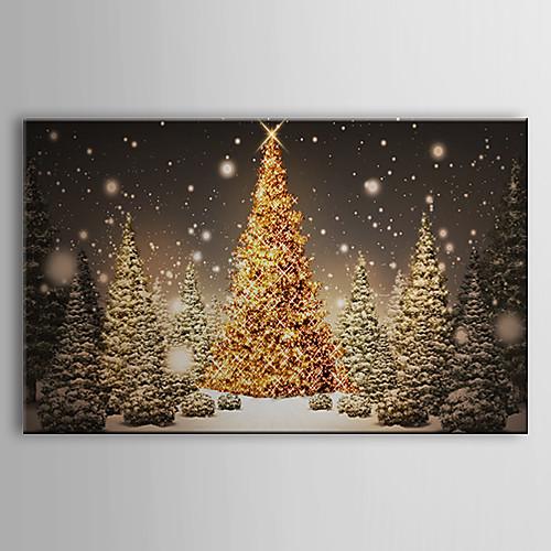 Натянутым холстом Искусство Праздник елки Lightinthebox 1503.000
