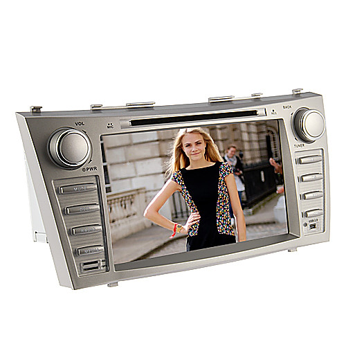 8Inch 2 Дин В-Dash DVD-плеер автомобиля для Toyota Camry 2007-2011 с GPS, BT, IPOD, RDS, FM, сенсорный экран
