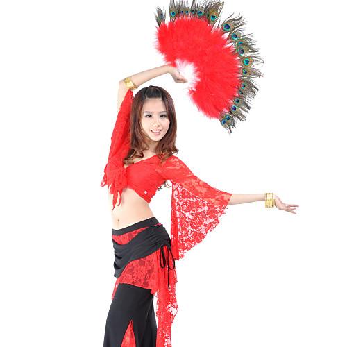 танец аксессуар перо танец живота складной веер рук для женщин Lightinthebox 669.000