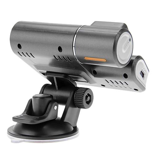 F70 H.264 с двумя объективами HD 720P приборной панели автомобиля камеры корабля видеорегистратор DVR CAM G-сенсор Lightinthebox 1890.000