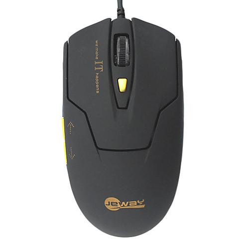 Jeway JM-1200 800/1200/1600/2400 DPI USB Проводная 6D оптическая мышь Gaming Lightinthebox 300.000