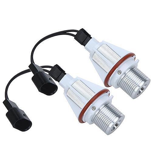 2  7 Вт Белый СИД CREE Ангел глаз Halo лампочка для BMW E39 E53 E60 E63 E64 E65 E66 E83 E87 безошибочную Lightinthebox 1159.000