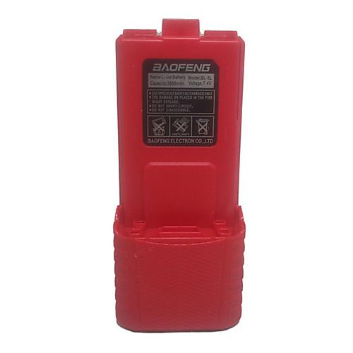 Портативный BAOFENG UV-5R двухдиапазонный двухстороннее радио литий-ионный 7.4V 3800mAh батарейный блок Lightinthebox 730.000