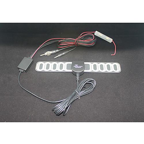 в автомобиль ТВ & радиоантенны с усилителем постоянного тока вилки с наклейки УКВ радиодиапазоне