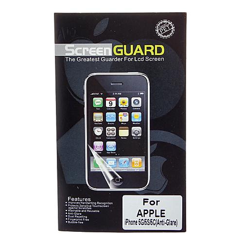Профессиональные антибликовым покрытием ЖК экрана гвардии с Ткань для очистки для iPhone 5/5S/5C Lightinthebox 85.000