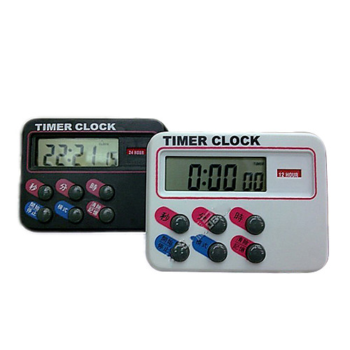Кимура 24 часов обратного отсчета Таймер Часы мини портативный напоминания секундомер приурочены (Цвет Randomed) Lightinthebox 644.000