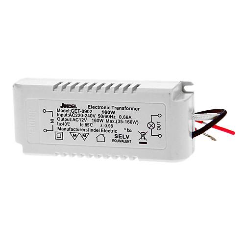 AC 220-240V 50/60Hz 0.66A 12V в переменное 35-160W Светодиодный преобразователь напряжения Lightinthebox 816.000