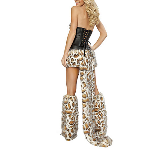 Furry Leopard Волк женские Хеллоуин костюм Lightinthebox 1718.000