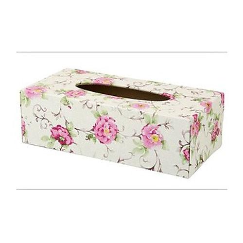 Белый и розовый Country Style Tissue Box Lightinthebox 730.000