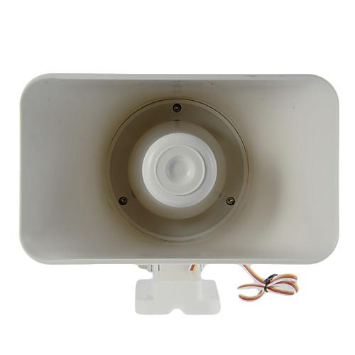 30 Вт Сирена Двухтональный Indoor / Outdoor Сирена (6-12VDC 1.1Ah 120 дБ) Lightinthebox 773.000