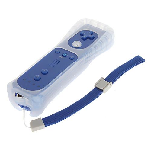 Удаленный с силиконовым рукавом Nunchuk контроллер для Wii (темно-синий) Lightinthebox 814.000