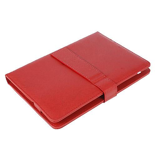 10 дюймов Mesh полосой Pattern PU кожаный чехол с USB клавиатурой и подставкой Lightinthebox 515.000