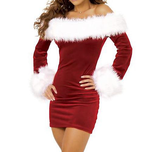 Изящная леди Рождество Furry костюм Lightinthebox 901.000