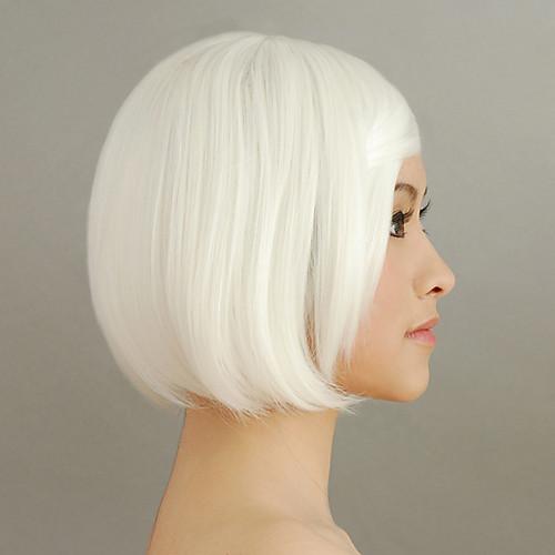 Белый короткий боб 30см Gothic Lolita парик Lightinthebox 858.000