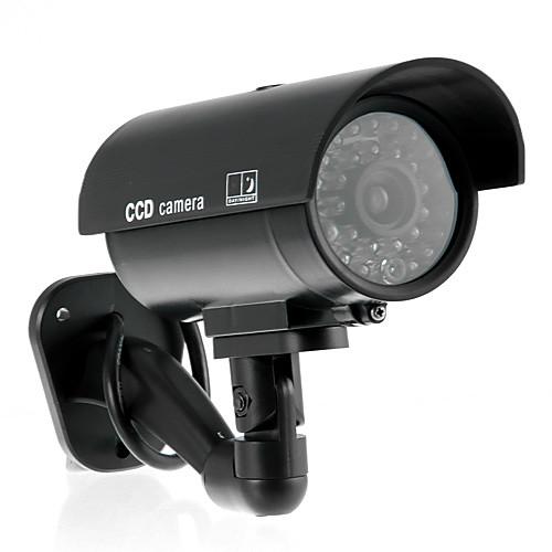 Реалистичной домашнего наблюдения CCTV CCD обеспеченностью пустышка камера с мигающий светодиод Lightinthebox 450.000