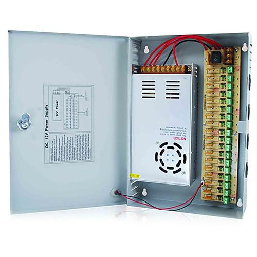 12V DC 18CH 30 А Блок источника питания для камер видеонаблюдения безопасности Lightinthebox 3007.000