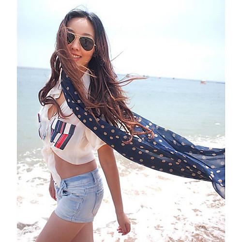 Горошек Мода Длинный шарф Lightinthebox 429.000