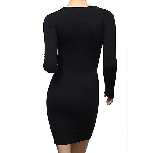 Мини-платье фасона бодикон с вырезом замочная скважина Lightinthebox 837.000