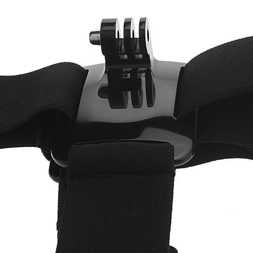 Черный Новый Регулируемый эластичный Глава Крепление ремня для GoPro HD Hero 2 героя 3 камеры Lightinthebox 257.000