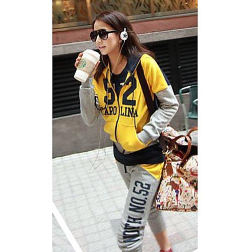 Повседневная женщин Костюм (толстовка и брюки) Lightinthebox 949.000