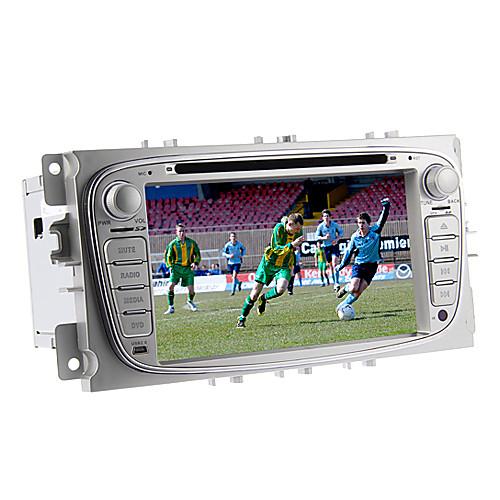 7-дюймовый 2 Дин В-Dash DVD-плеер автомобиля для Ford Focus 2011-2012 с GPS, BT, ставку, выстр