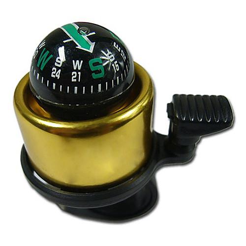 Золотистый велозвонок с компасом Lightinthebox 128.000
