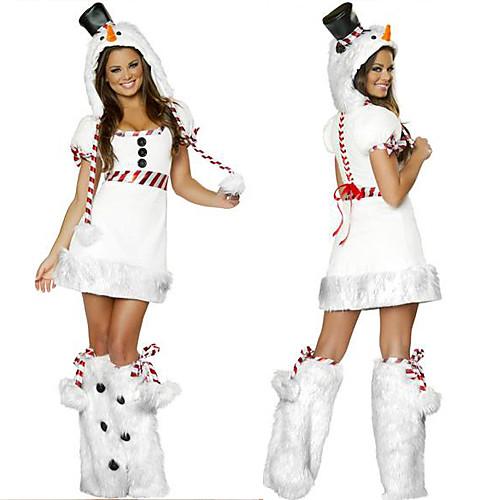 Рождество белых женщин костюма снеговика Lightinthebox 1718.000