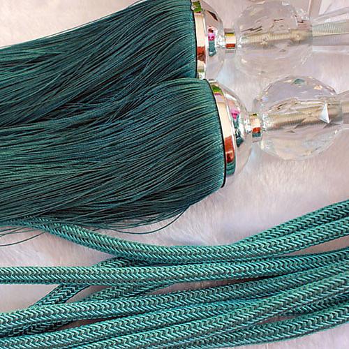 Зеленый кисточкой полиэстер (одна пара) Lightinthebox 1073.000