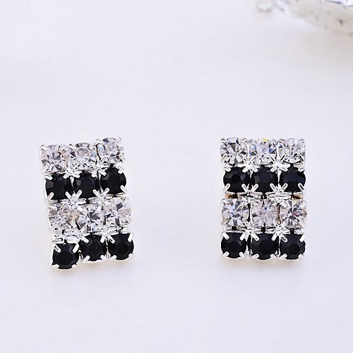lureme многослойные кристаллы воротник ожерелье и серьги Lightinthebox 472.000