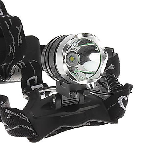 1800 люмен T6 Велосипед светодиодные фары фара для Велоспорт (2x18650) Lightinthebox 778.000